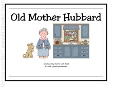 old mother hubbard word search og word family